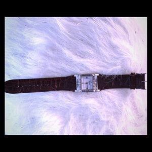 Brighton reversible leather watch